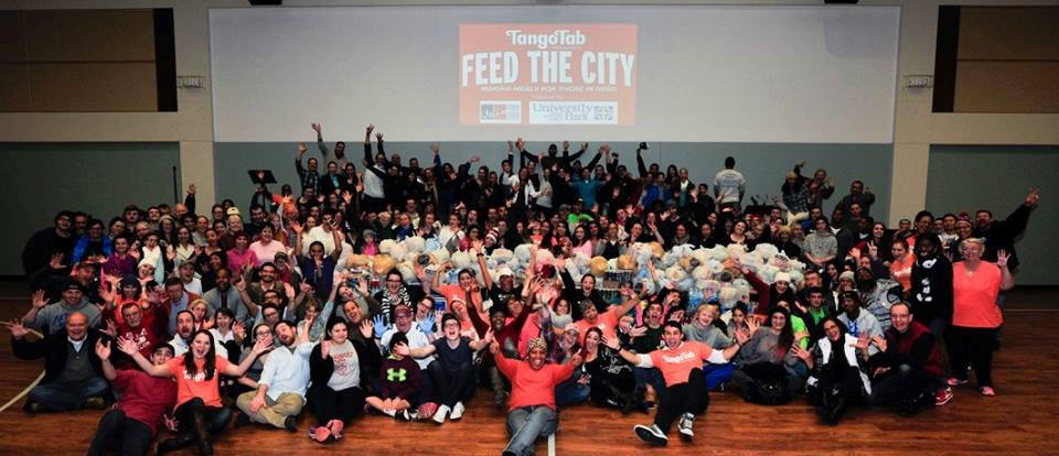 feed the city, tangotab, tornadoes, dfw