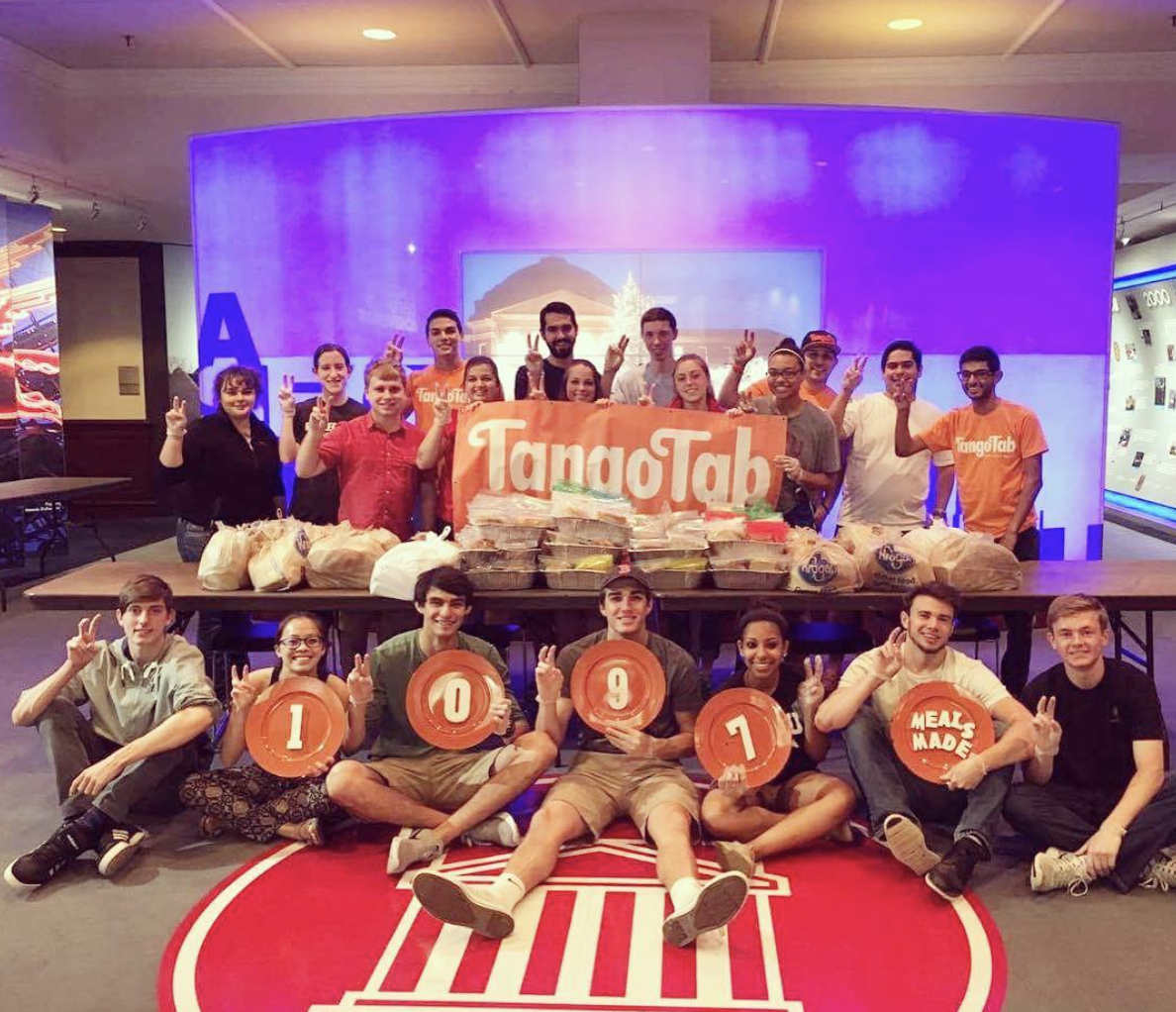 smu tangotab feed the city student philanthropy